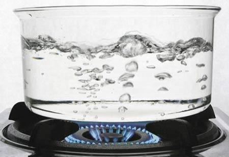 تصفیه آب با جوشاندن