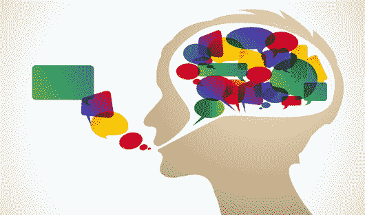 تمرکز فکر لکنت زبان